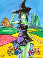 WICKED WITCH CANVAS Gordon Bruce