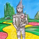 """THE TIN MAN FROM THE WIZARD OF OZ Gordon Bruce"" by GORDONBRUCEART"