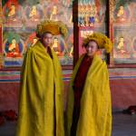 """Young Monks at Tashilunpo"" by erniereyes"