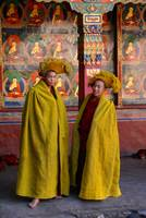 Young Monks at Tashilunpo