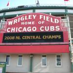 """cubs 9 21 last home 2008 Marquee"" by BigSkyVIP"