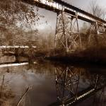"""Alcovy River Trestle"" by regularjoe"