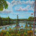 """View Of The Ausable"" by DavisGalleries"