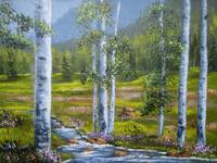 Mountain Birch Stream