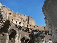 Inside the Coloseum