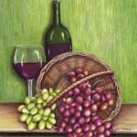 """Wine and Grapes"" by farrellart"