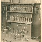 """Chemistry Laboratory in 1903 book; artist unknown"" by arcaniumantiques"