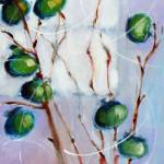 """Green Persimmons"" by AnnTuck"