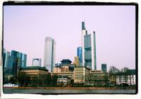 Frankfurt Skyline - Cross Processed