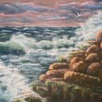 """Stormy Seas"" by DavisGalleries"