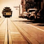 """San Francisco cable car"" by canbalci"