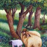 """SHEEP HERD"" by shualart"