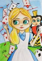 ALICE IN WONDERLAND BIG EYE BLYTHE Gordon Bruce