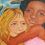 """Thank Heaven For little Girls 24x20"" by preacherswifearts"