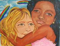 Thank Heaven For little Girls 24x20