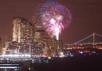 Battery Park Fireworks