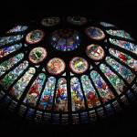 """Stained Glass at Hockey Hall of Fame"" by howardpoon"
