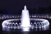 Fountain at WWII Memorial