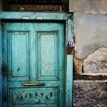 """Green Door With Turkish Rug"" by joshuaphotography"