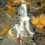 """Baddack Falls in Cape Breton Canada"" by ArtLoversOnline"