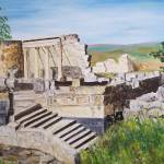 """""""Synagogue in Capernium"""" by shualart"""