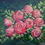 """Christmas Roses"" by rebeccagrantham"
