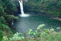 Rainbow Falls in Hilo Hawaii