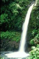 Waterfall in Costa Rica Central America