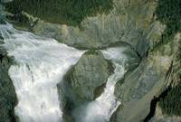 Virginia Falls in Nahanni National Park Canada