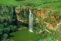 Eastern Transvaal Mountains Waterfall in Africa
