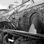 """Train Locomotive - Vintage"" by Philippa"