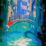 """""""Canal Venice Italy - Riccoboni"""" by BeaconArtWorksCorporation"""