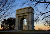 National Memorial Arch at Sunset