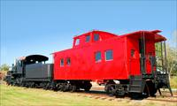 Big Red Caboose