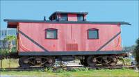 Wooden Caboose
