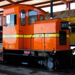 """Orange Train"" by doncon402"