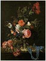 Willem Van Aelst's Flower Piece