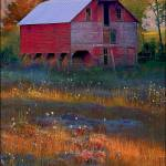 """Fall Barn"" by ronjonesphotography"