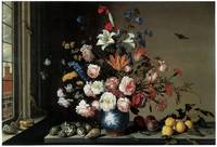 Balthasar Van Der Ast's Vase of Flowers by Window
