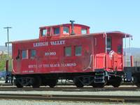 Lehigh Valley Caboose