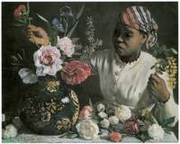 Frederic Bazille's African Woman with Peonies