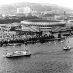 """Three Rivers Stadium - Pittsburgh"" by estrawser"