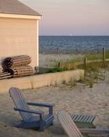 Beach Front On Cape Cod Bay