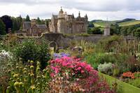 Abbotsford House from the gardens