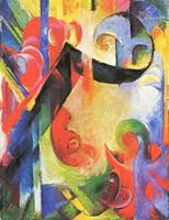 Broken Forms by Franz Marc