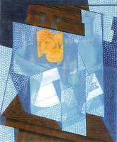 Fruit bowl by Juan Gris