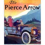 """1909 Pierce-Arrow - Touring"" by jdono33"