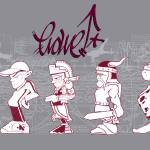 """""""Evolution of the B-boy"""" by seankernick"""