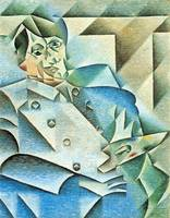 Homage to Pablo Picasso by Juan Gris
