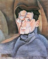 Portrait Maurice Raynal by Juan Gris